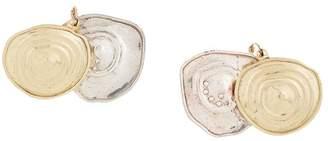 Ellery dual disc earrings