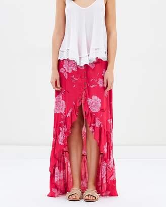 Rusty Valentina Maxi Skirt