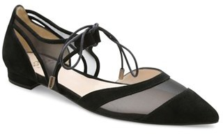 Andre Assous 'Maddie' Pointy Toe Flat (Women) $224.95 thestylecure.com