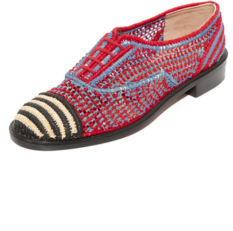 Robert Clergerie Espadrille Oxfords $550 thestylecure.com