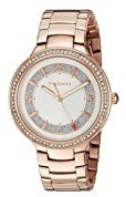 Juicy Couture Women's 1901401 Catalina Analog Display Japanese Quartz Rose Gold Watch $250 thestylecure.com