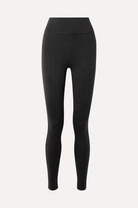 Live The Process - Tuxedo Stretch-supplex Leggings - Black