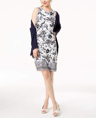Charter Club Print Shift Dress, Created for Macy's