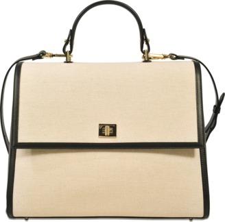 Hugo Boss Bespoke medium canvas bag $1,200 thestylecure.com