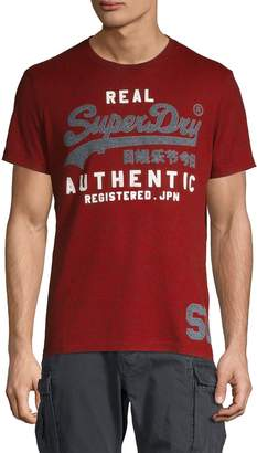 Superdry Graphic Logo Cotton Blend Tee