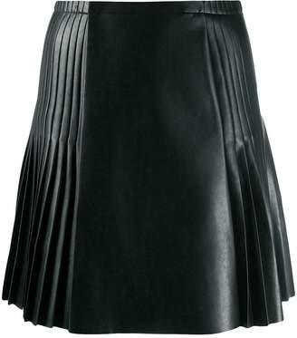 Ermanno Scervino panelled pleated skirt