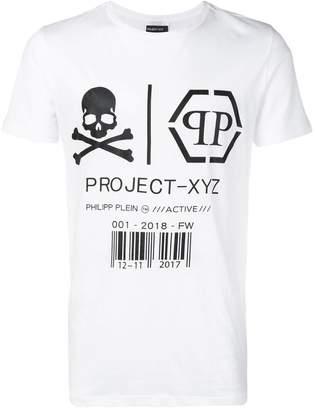 Philipp Plein XYZ skull and tiger T-shirt