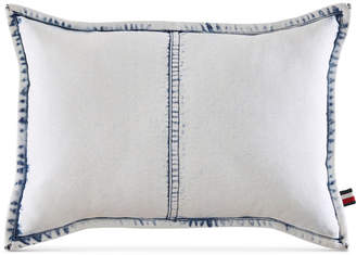 "Tommy Hilfiger Rip and Repair 12"" x 18"" Decorative Pillow Bedding"