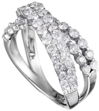 Diamond Select Cuts 14K 1.75 Ct. Tw. Diamond Criss Cross Ring