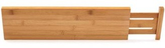 Lipper Bamboo Kitchen Drawer Dividers, Set of Two