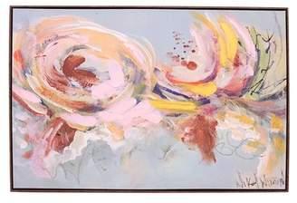 "Boston Warehouse Spring Floral Wall Art - 36\""x24\"""