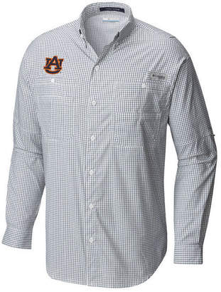 Columbia Men's Auburn Tigers Super Tamiami Long Sleeve Shirt