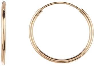 Candela 14K Yellow Gold 13.5mm Hoop Earrings