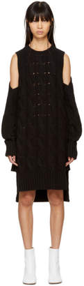Maison Margiela Black Gauge 5 Sweater Dress