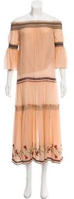 Rachel Zoe Cassidee Silk Maxi Dress