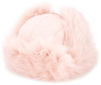 Federica Moretti fur hat