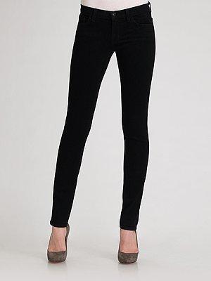 J Brand Skinny-Leg Petite Jeans/Black