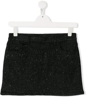 Dondup Kids TEEN glitter straight skirt