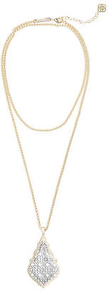Kendra Scott Aiden Mixed Metal Pendant Necklace