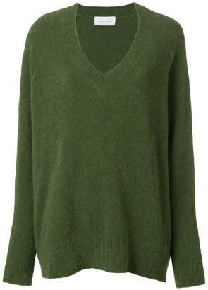 Christian Wijnants oversized v-neck sweater