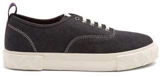Eytys - Viper Low Top Canvas Trainers - Mens - Black