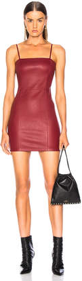 Alexander Wang Leather Cami Dress