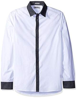 Kenneth Cole Reaction Men's Long Sleeve Party Shirt
