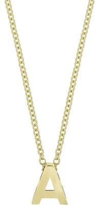 Bony Levy Initial Pendant Necklace