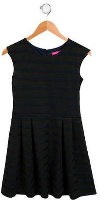 Derhy Kids Girls' Sleeveless A-Line Dress