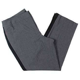 Nine West Women's Plus Size Bi Stretch Pant with Contrast Side Panel (2)