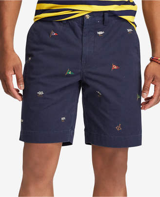 Polo Ralph Lauren Men's Embroidered Stretch Classic Fit Shorts