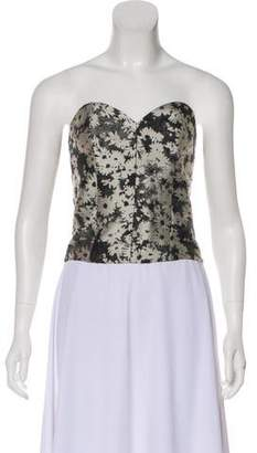 Stella McCartney Strapless Bustier Top