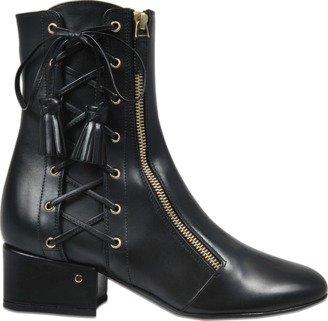 Laurence Dacade Marcella lace up ankle boot $1,009 thestylecure.com