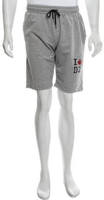 DSQUARED2 Printed Jogger Shorts