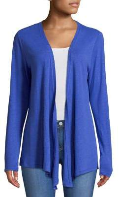 Lord & Taylor Petite Open Front Cardigan