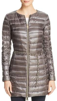 Herno Belted Nylon Down Coat
