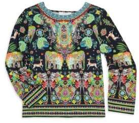 Camilla Little Girl's & Girl's Embellished Tunic