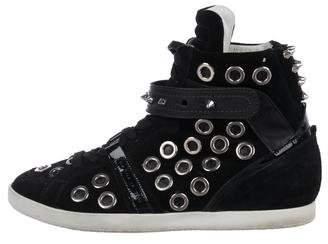 Barbara Bui Suede High-Top Sneakers