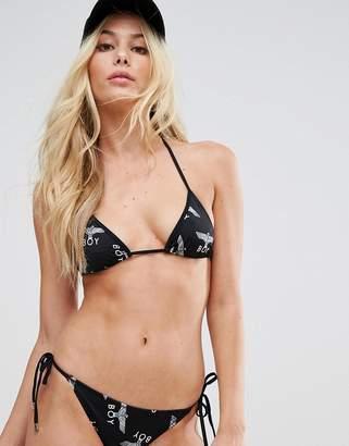 Boy London Repeat String Bikini Top