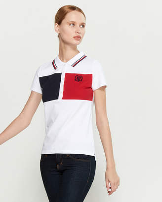 Tommy Hilfiger Color Block Short Sleeve Polo