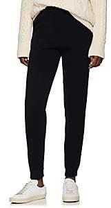 Lanvin Women's Grosgrain-Striped Wool-Blend Jogger Pants - Md. Blue