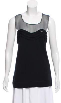 Christopher Fischer Silk Sleeveless Top