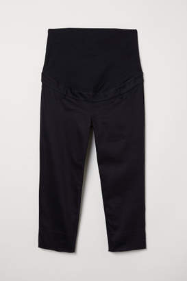 H&M MAMA Capri Pants - Black
