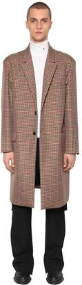 Single Breast Wool & Tricot Coat