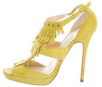Jimmy Choo Mendez Fringe Sandals