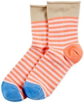 Hue Women's Roll-Top Shortie Socks