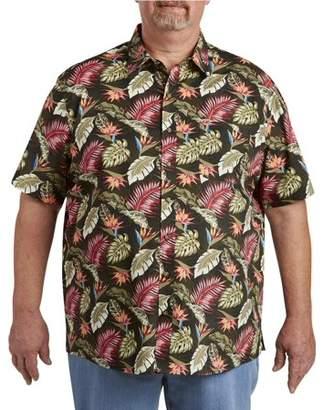 Canyon Ridge Men's Big & Tall Nautical Printed Short Sleeve Sport Shirt, up to size 7XL