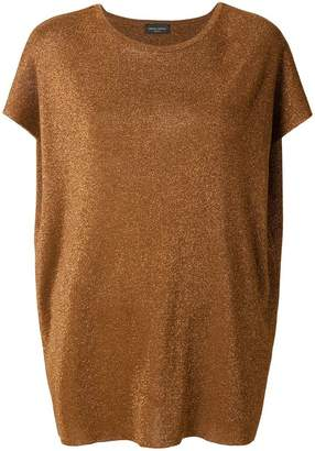 Roberto Collina boat neck knitted top