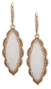 Jenny Packham Crystal Embellished Drop Earrings