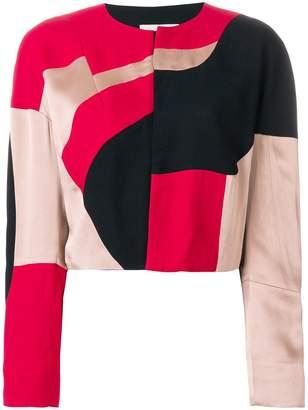 Vivienne Westwood cropped colour block jacket